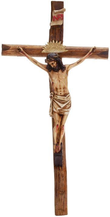 01-15408 CHRIST OUR SAVIOR CROSS4'