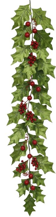 GRAND HOLLY GARLAND5.5FT