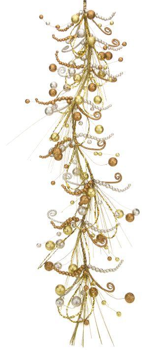 Luscious Festive Garland - 4 Feet