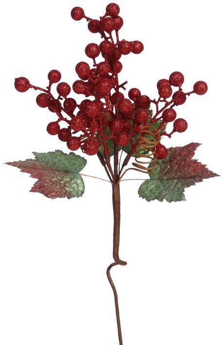 07-12724-RED Christmas Decor (XMA)
