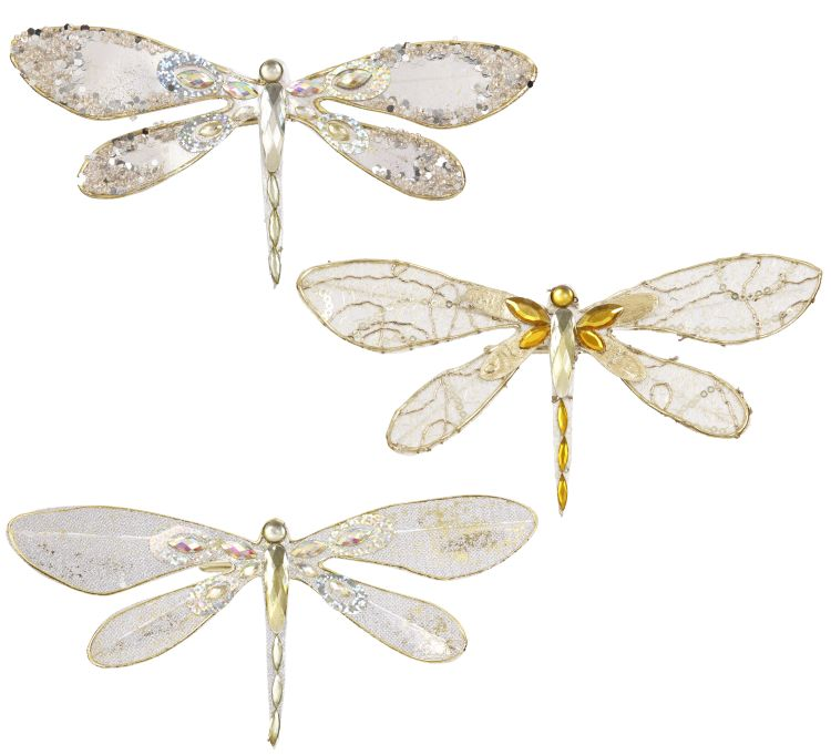 SPARKLED DRAGONFLY8X2''A3