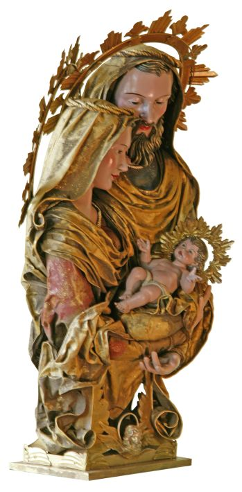 HOLY FAMILY BUST 33''