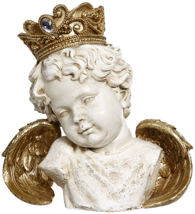 CROWNED CHERUB8.5''