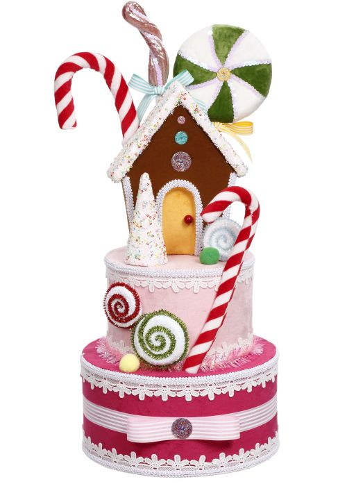 GINGERBREAD TREE TOPPER 22.5''