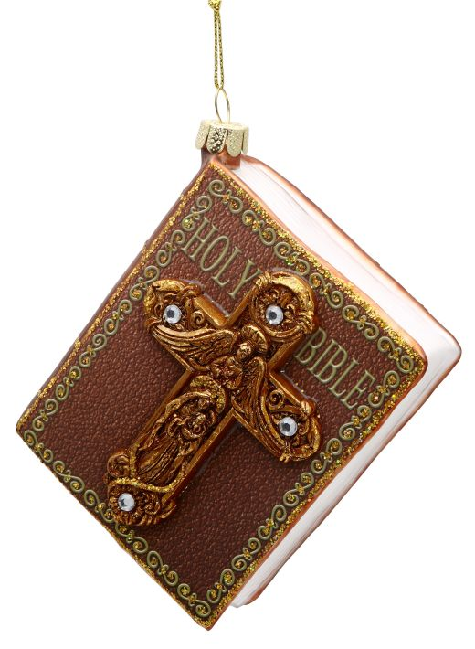 HOLY BIBLE ORN 4'' A2