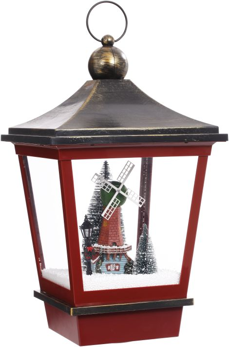 SNOWING HNGNG LAMP 21''