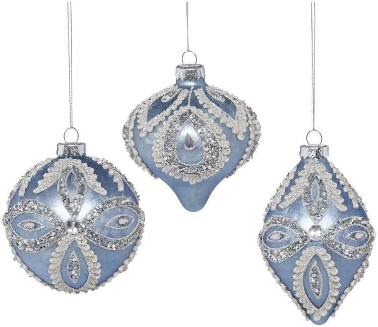 38-13416-BLU Christmas Decor (XMA)