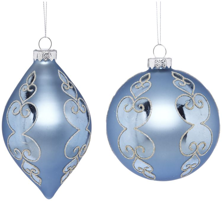 38-13418-BLU Christmas Decor (XMA)