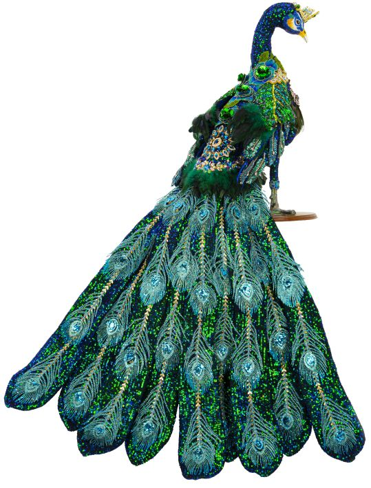 JEWELED PEACOCK 57""