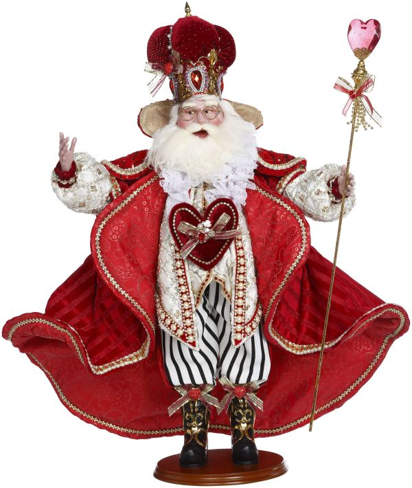 KING OF HEARTS SANTA27''