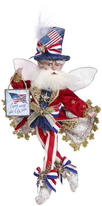 51-15866 GOD BLESS AMERICA FAIRY