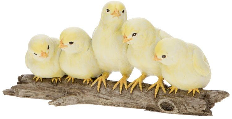 ADORABLE CHICKS 10 X 4''
