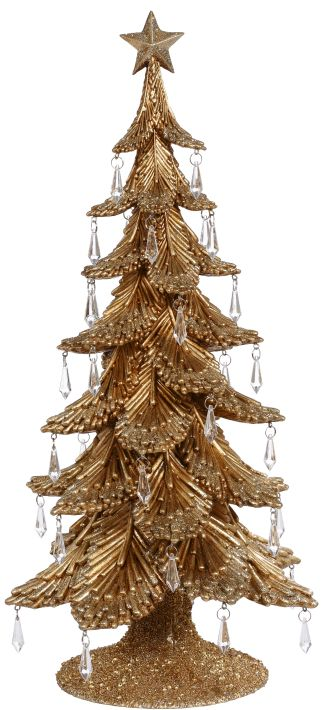 GOLDEN CHRISTMAS TREE20''