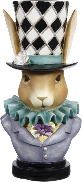 RABBIT PLANTER 18''