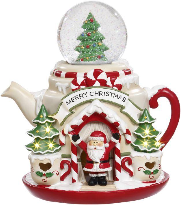 CHRISTMAS TPOT W/LED11''