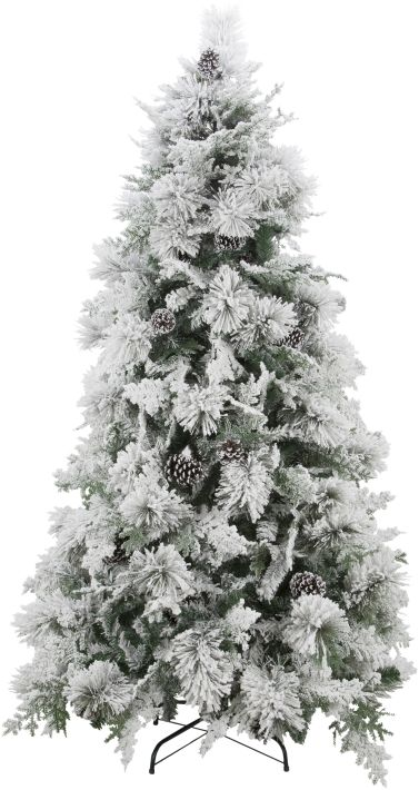 FROSTED CHRISTMAS TREE 7FT