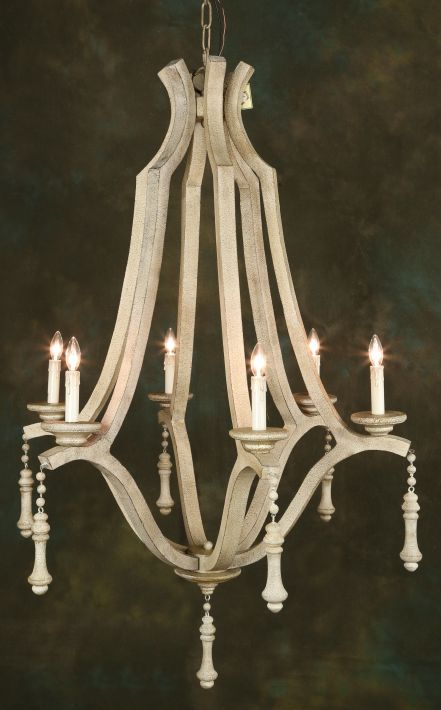 Woodlook Chandelier - 41 Inches