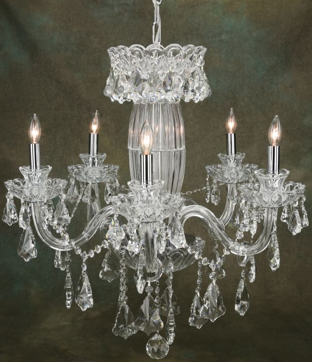 PRINCESS CHANDELIER25X25''